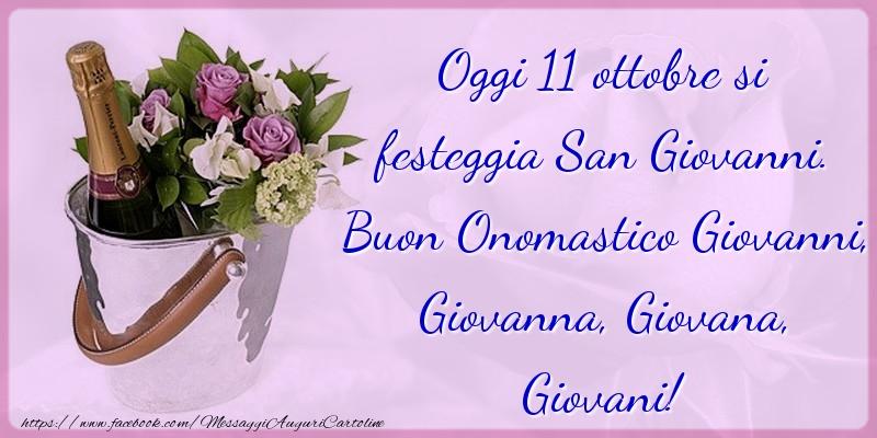 Buon Onomastico Giovanni, Giovanna, Giovana, Giovani! - Cartoline onomastico