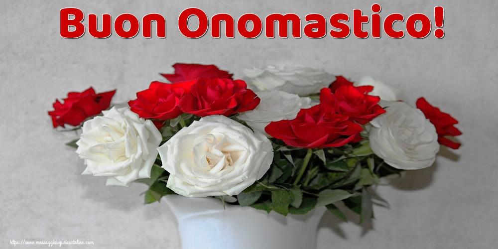 Buon Onomastico! - Cartoline onomastico