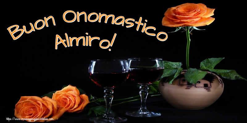 Buon Onomastico Almiro! - Cartoline onomastico
