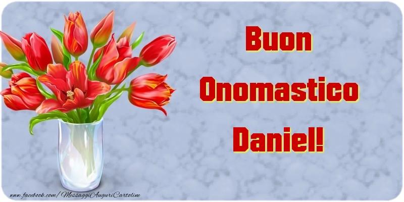 Buon Onomastico Daniel - Cartoline onomastico
