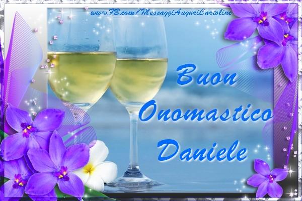 Buon Onomastico Daniele