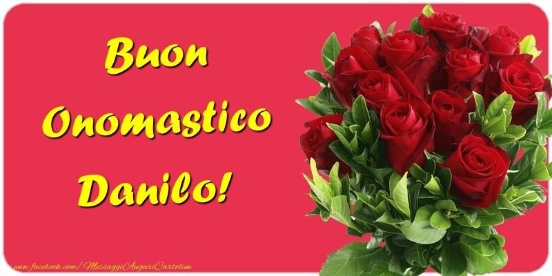 Buon Onomastico Danilo - Cartoline onomastico