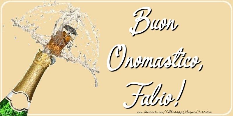 Buon Onomastico, Fabio - Cartoline onomastico