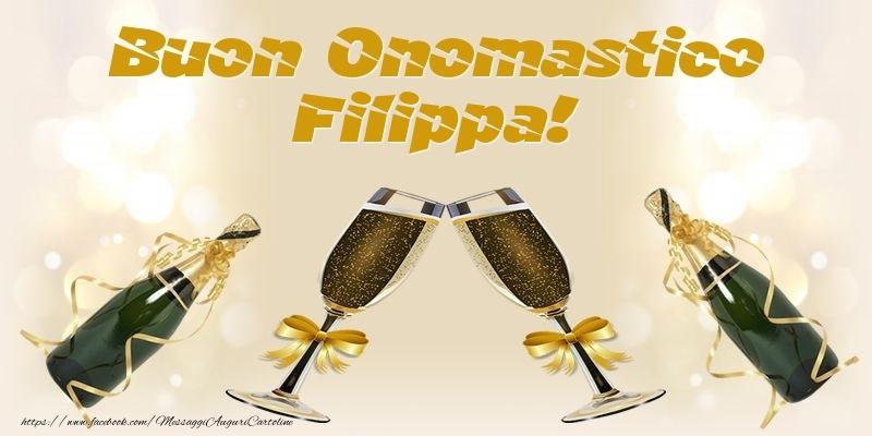 Buon Onomastico Filippa! - Cartoline onomastico