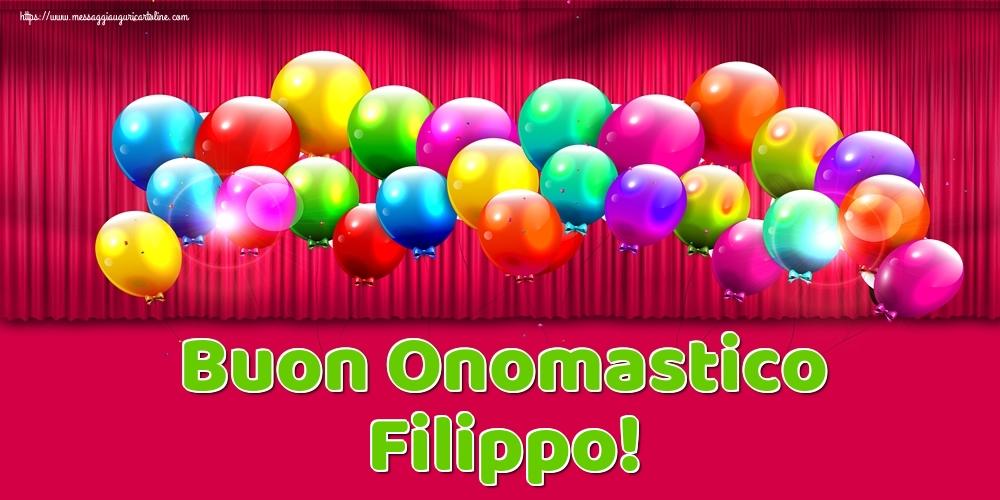 Buon Onomastico Filippo! - Cartoline onomastico