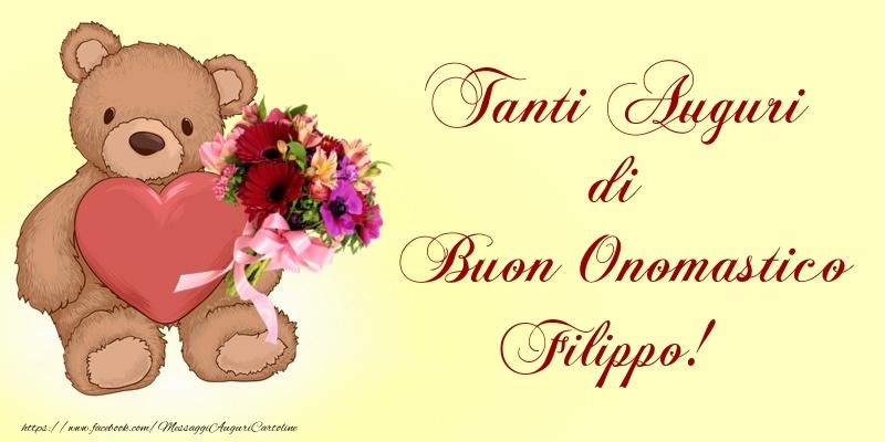 Tanti Auguri di Buon Onomastico Filippo! - Cartoline onomastico
