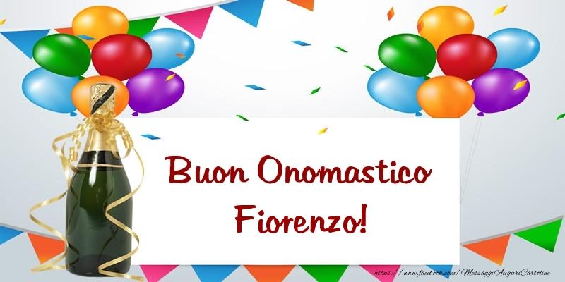 Buon Onomastico Fiorenzo! - Cartoline onomastico