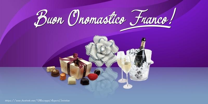 Buon Onomastico Franco! - Cartoline onomastico